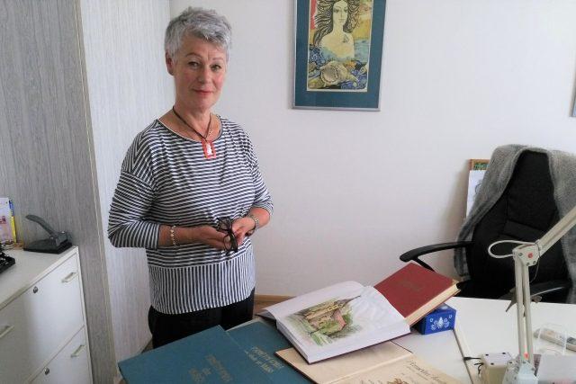 Ludmila Hálová, kronikářka obce Vrábče na Českobudějovicku