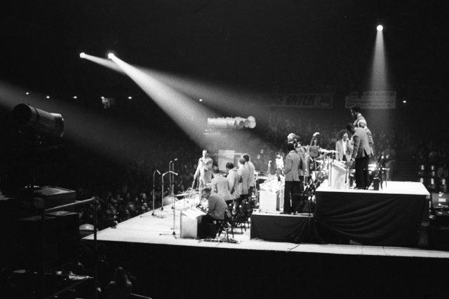 Duke Ellington se svým orchestrem byl jedním z těch,  kterým vzdal Maxwell Davis hold   foto: Fotobanka Profimedia
