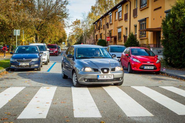 V další částo Pražského předměstí začínají fungovat parkovací zóny | foto: Petr Lundák,  MAFRA / Profimedia