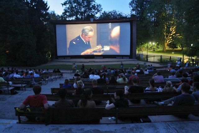 Letní kino Háječek v Českých Budějovicích