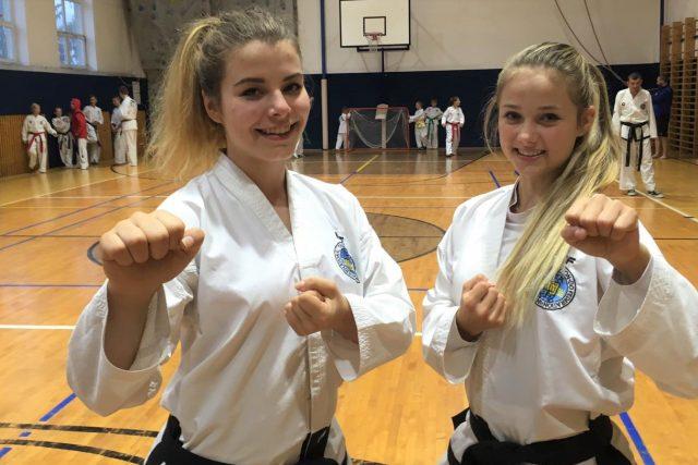 Anežka Čurdová a Veronika Rožboudová přivezly medaile z mistrovství světa v taekwondo