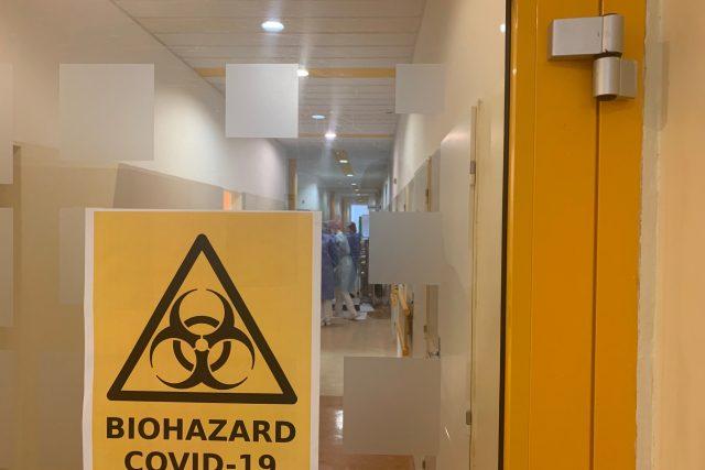 Oblastní nemocnice v Náchodě výrazně navýšila počet lůžek pro pacienty s koronavirem