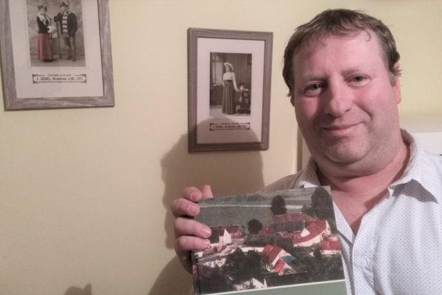 Petr Lexa, spoluautor zvláštní kroniky Vidova na Českobudějovicku