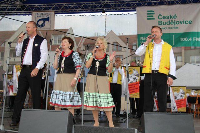 Veselka během vystoupení na festivalu Kubešova Soběslav   foto: Anna Pospíšilová,  Český rozhlas,  Český rozhlas