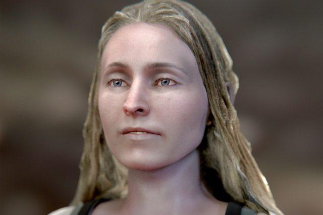 Brazilský 3D designer Cicero Moraes vytvořil pravděpodobnou podobiznu dívky, která zemřela při obléhání Tábora za třicetileté války