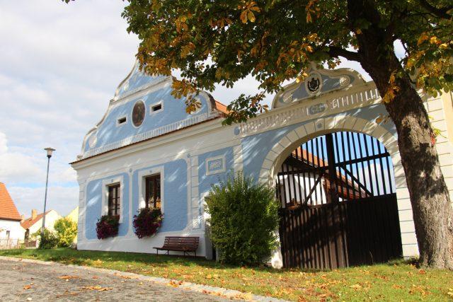 Selské baroko, Plástovice, jižní Čechy, vesnice, venkov