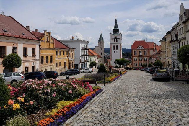 Vimperk, náměstí