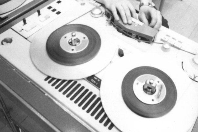 Staré rozhlasové vybavení