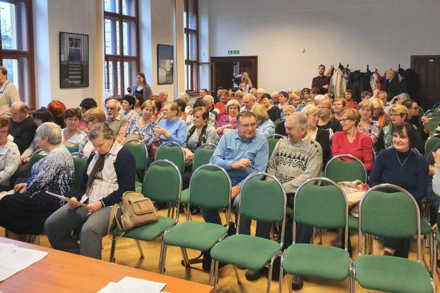 Studenti virtuální Univerzity třetího věku v Českých Budějovicích