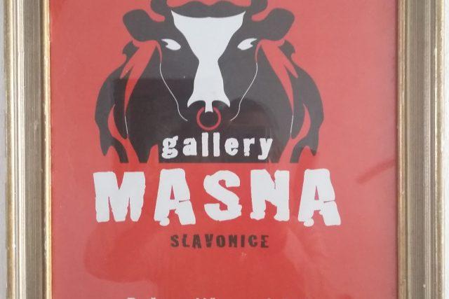 Abbé Libánský provozuje ve Slavonicích galerii Masna