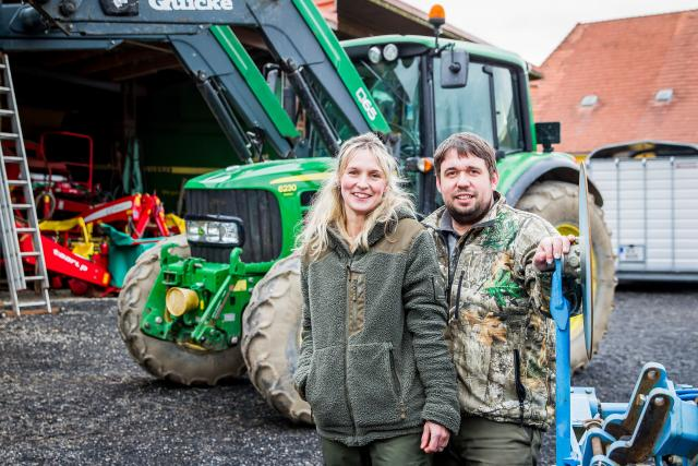 Lenka a Jakub Placandovi, majitelé farmy roku 2019