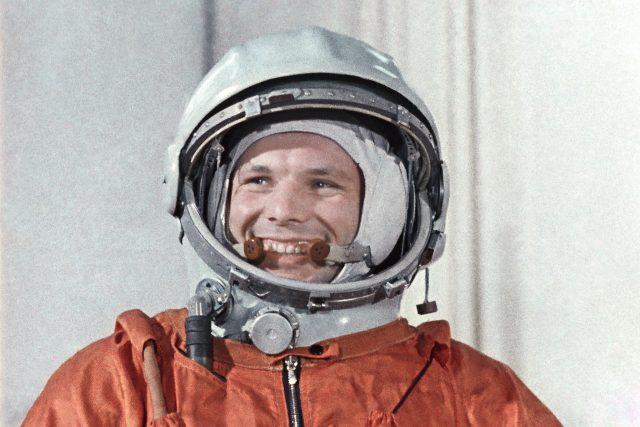 Jurij Alexejevič Gagarin, sovětský kosmonaut a první člověk, který vzlétl do vesmíru
