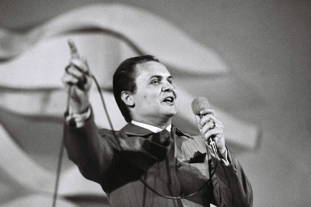 Dušan Grúň na Bratislavské lyře v roce 1968 | foto: Fotobanka Profimedia