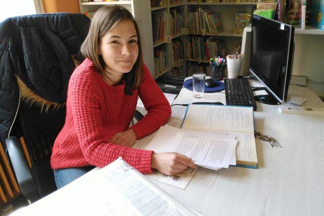Kateřina Mašlová, kronikářka města Vodňany