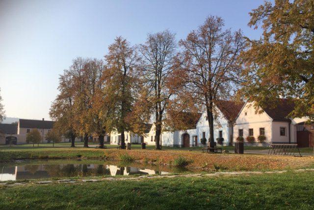 Obec Holašovice na Českobudějovicku, od roku 1998 na seznamu UNESCO