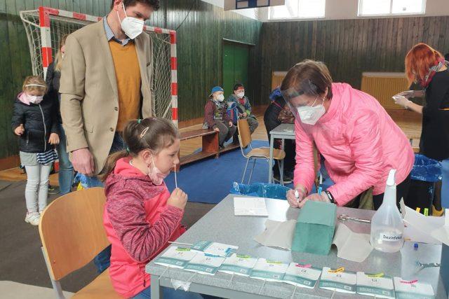 Testování žáků na základní škole v Kardašově Řečici