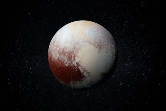 Trpasličí planeta Pluto | foto: Shutterstock