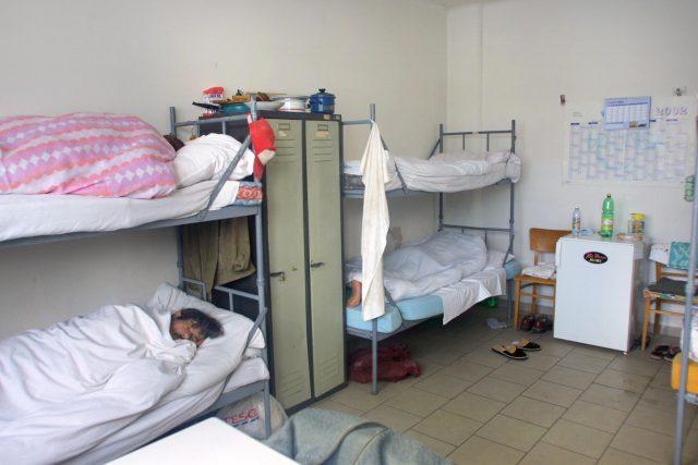 Jedinou plzeňskou noclehárnou pro lidi bez domova je Domov sv. Františka