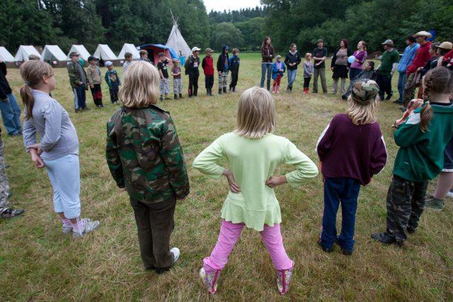 Letní dětský tábor (ilustrační foto)