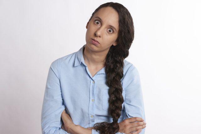 Naštvaná žena