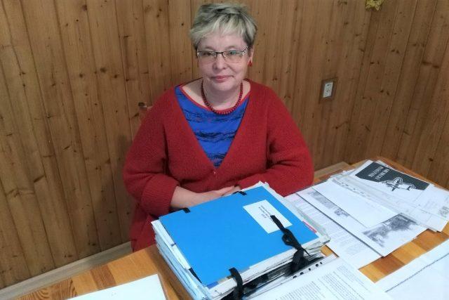 Zuzana Vyhnálková, kronikářka obce Srubec