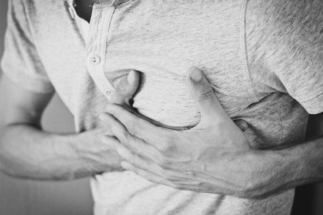 Srdeční bolest, srdce, infarkt
