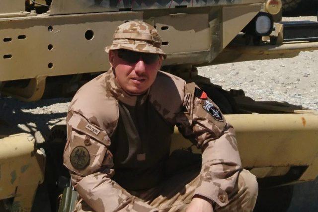 Martin Marcin, jeden ze tří českých vojáků zabitých v Afghanistánu