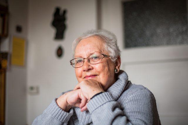Helena Faberová, první ředitelka Diecézní charity České Budějovice
