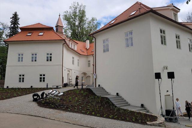 Lidé v Boršově nad Vltavou si mohli prohlédnout opravený Zámeček Poříčí