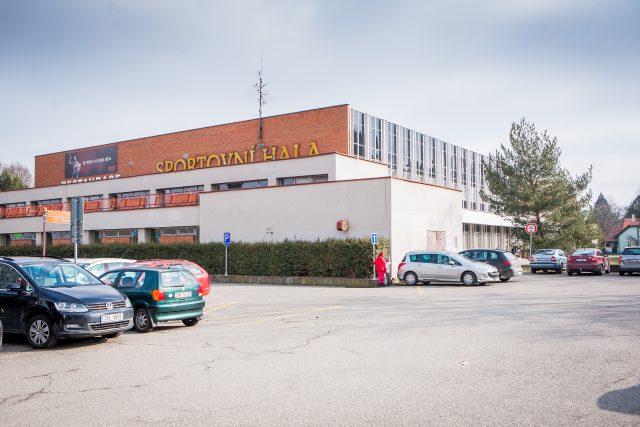 Sportovní hala České Budějovice, parkoviště, parkování