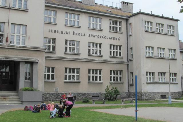 Jubilejní základní škola svatováclavská ve Strýčicích na Českobudějovicku