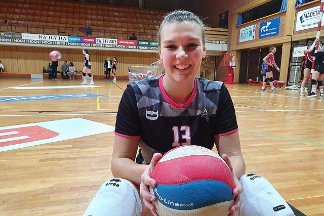 Volejbalistka Michaela Kroupová