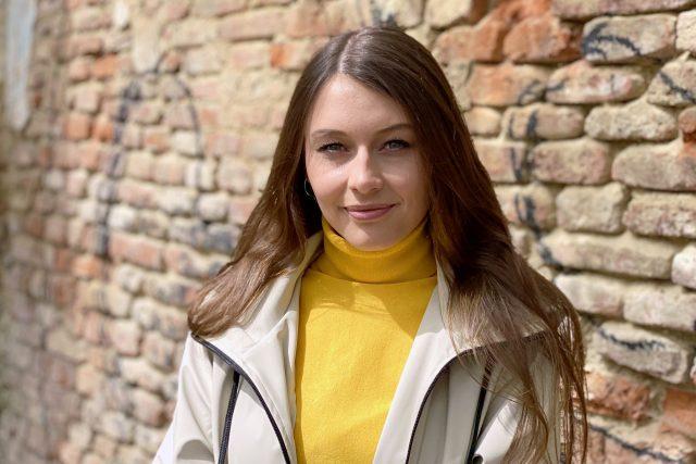 Zpěvačka Kateřina Marie Tichá | foto: Lenka Vahalová,  Český rozhlas