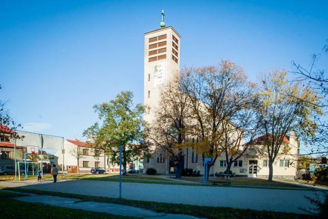 Kostel svatého Vojtěcha, středisko salesiánské farnosti v Českých Budějovicích