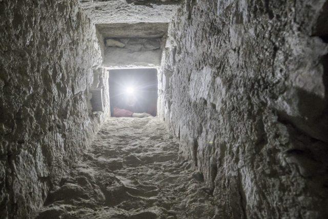Areál kláštera v Milevsku Areál kláštera v Milevsku zkoumají archeologové,  v kostele našli dosud utajenou chodbu   foto: Naše historie