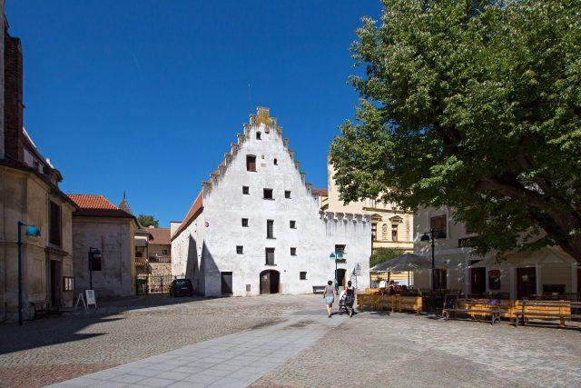 Solnice, Piaristické náměstí, České Budějovice