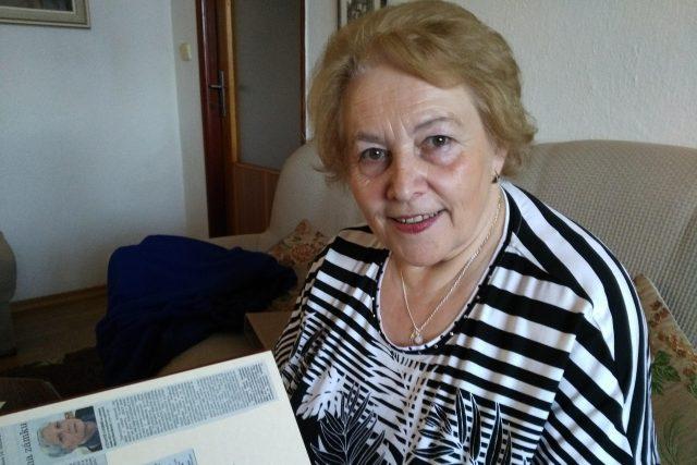 Věra Novotná, kronikářka obce Dírná na Táborsku