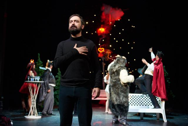 Jihočeské divadlo uvádí hru Václava Havla Pokoušení, slavnou parafrázi na Fausta