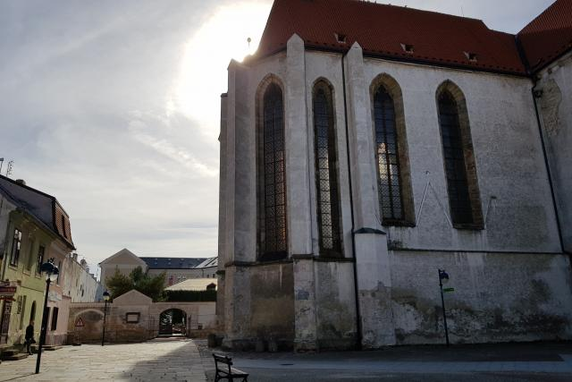Klášterní kostel Obětování Panny Marie, Piaristické náměstí, České Budějovice