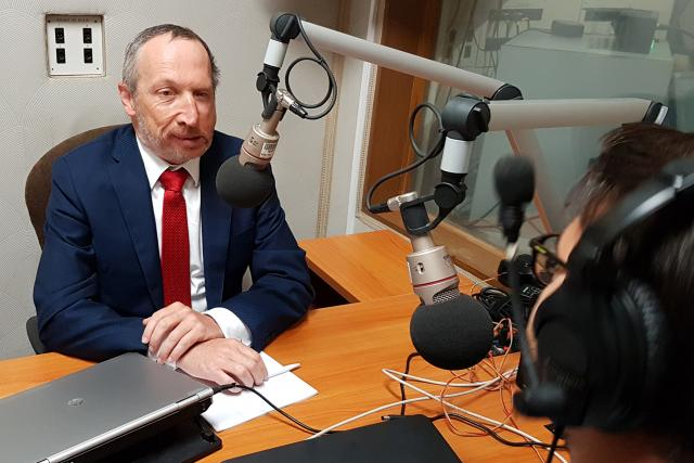 Václav Klaus ml. při rozhovoru ve sněmovně