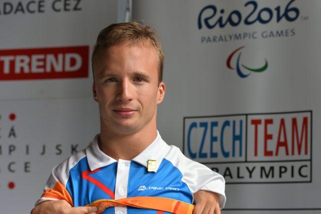 Arnošt Petráček, handicapovaný plavec, vítěz z paralympiády v Riu