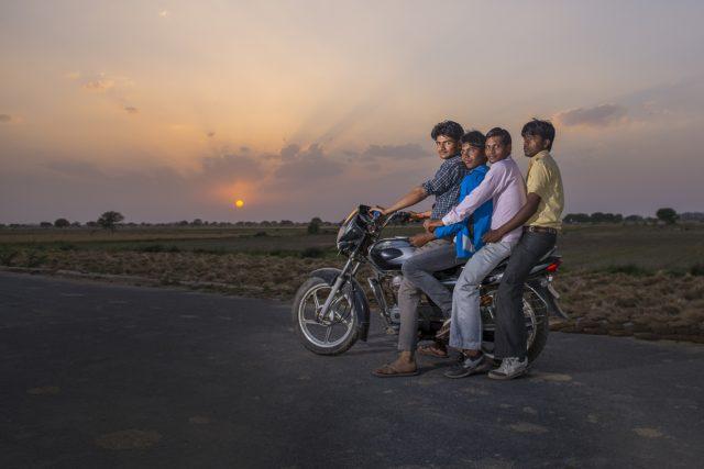 Snímek Kamily Berndorffové z Indie