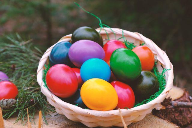 Velikonoční vajíčka (ilustrační foto)