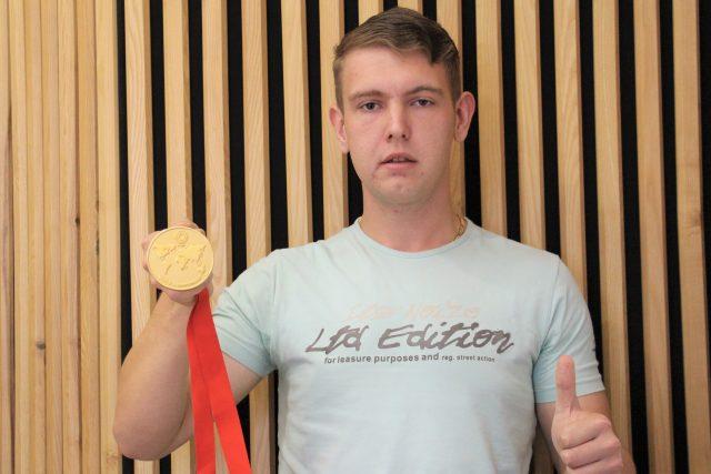 Daniel Korčák, juniorský mistr světa ve skeetu