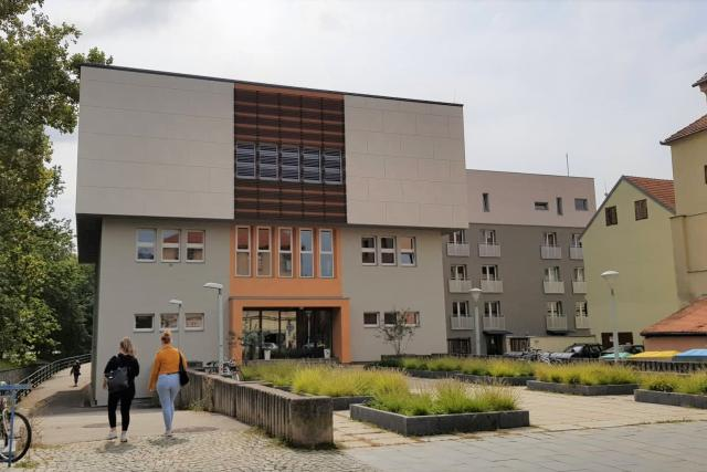 Budova konzervatoře v Českých Budějovicích