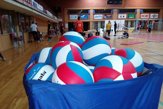 Volejbalisté Jihostroje se připravují na novou sezónu