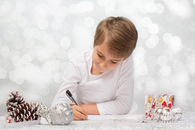 Dopis Ježíškovi, dítě, psaní, Vánoce