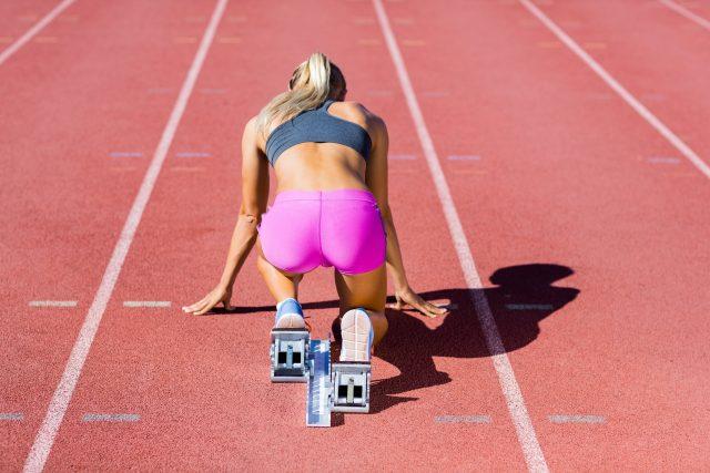 Atletka, běh,  běžkyně, závodnice, atletika