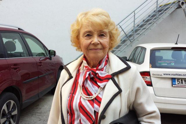 Architektka Olga Ryšavá
