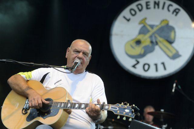 František Nedvěd při vystoupení v roce 2011 | foto: Fotobanka Profimedia